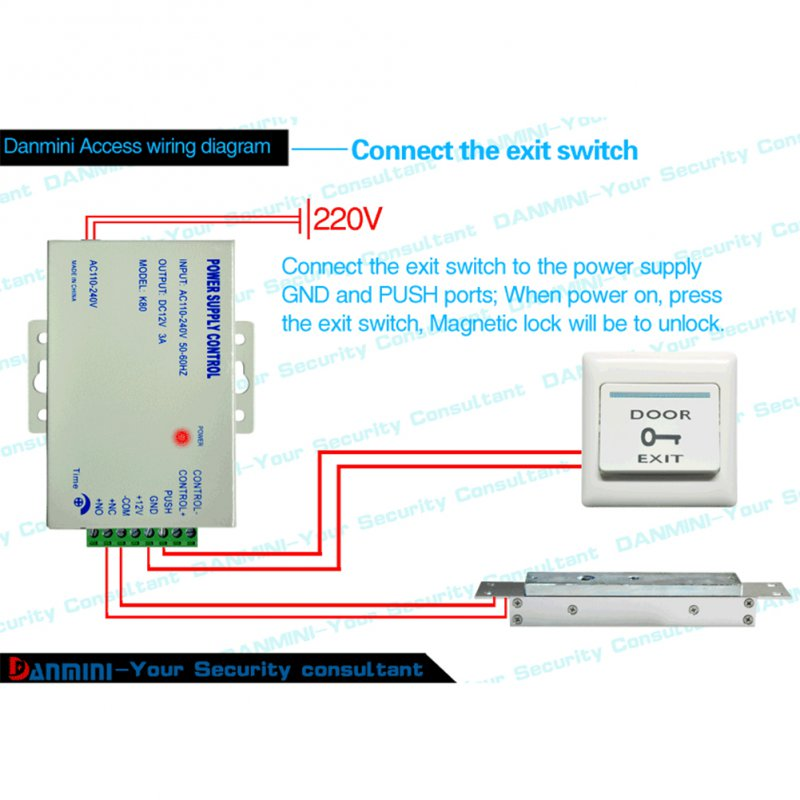mjpt019 single door access kit rfid door entry access control system kit set Access Control Cabinet