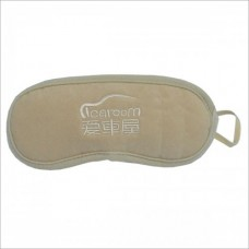 I-162A Comfortable Cotton Sleeping Eye Patch Blinder for Travel - Khaki