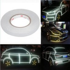 15mm x 46M Silver Reflective Tape Stripe Decal Sticker for Car/Truck/Motocycle