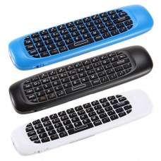 WS-505F Air Mouse Wireless Rechargeable Keyboard Qwerty with Touchpad remote control