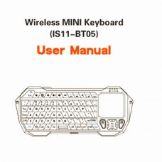Mini Wireless Bluetooth 3.0 Keyboard Fly Air Mouse With Touchpad BT05 for Windows iOS Android TV Box IPTV