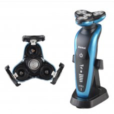 Beauty & Personal Care Men's Electric Shaver 4-blade Floating Heads Blue
