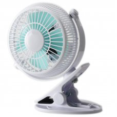 835 Desktop Fan For Chlidren Chargeable Fan Clip Base 2 Speeds Mini Portable Fan