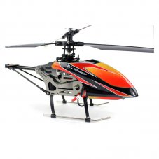 2.4G Remote Control helicopter four axis single blade, 2.4G LCD, Orange
