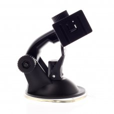 Car GPS Navigation Suction Mount Bracket Black