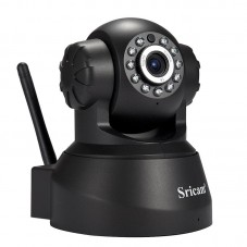 Wireless Security IP Camera WiFi Night Vision SP012 Black