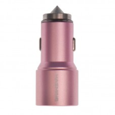 Car Charger Safety Hammer PAC-210 Rose Gold