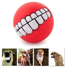 Pet Supplies Puppy Teeth Squeaky Ball Red