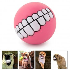 Pet Supplies Puppy Teeth Squeaky Ball Pink