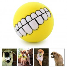 Pet Supplies Puppy Teeth Squeaky Ball Yellow