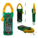 mastech ms2115b auto range trms digital clamp meter/60mf/hz/ncv voltage detection/usb