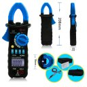 ture rms auto range 6600 digital ac/dc clamp meter with backlight/calmp light/cap/hz/inrush