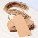 Wedding Party Kraft Paper Hang Tags Favor Punch Label Price Gift Cards 50pcs New