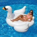 Inflatable Swan Floating Bed Drainage Environmental Protection Material