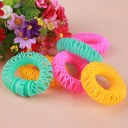 6PCS Donuts Curly Hair Curls Roller Hair Styling Tools Spiral Ringlets Circles