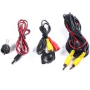 1set of Car Camera CCD HD Plastic Car Punching the Camera For Universal all car