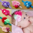 12pcs New Baby Girls Toddler Flower Headband Headwear Hair Accessories Band Bow