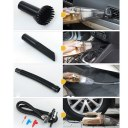 Handheld Car Vacuum Cleaner Auto With 150 PSI Air Compressor Silver And Gold