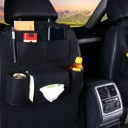 Multifuctional Car Seat Storage Bag Car Box Organizer Pockets For Bottle Napkin