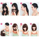 Fashion Long Curled Wave Roll Wig Heat Friendly Cosplay Party Costume Hair Wig