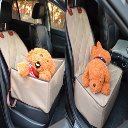 Front Seat Dual Purpose Pet Waterloo Dog Car Seat Cover Pet Travel Hammock