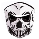 Outdoor Cycling Mask Wind Resistant Air Permeable Full Face Mask Dark Forest