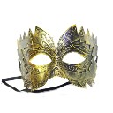 Pretty Masquerade Mask, Sawtooth Archaize Mask, Bronze