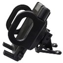 Car Use Phone Holder Air Outlet Phone Holder Clamp Type Mount Black