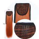 Wig Tie On Ponytail Banded Straight Hair Wig 130M