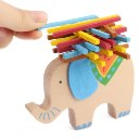 Elephant Camel Gift Box Elepant Balance Wooden Children Puzzle Toy Color Stick
