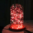 2M 20LED Battery Case Copper Micro Wire String Fairy Party XMAS Wedding Light