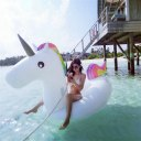 HRT Inflatable Unicorn Pool Float Raft