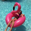HRT Inflatable Flamingo Swimming Ring