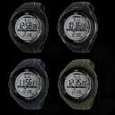 SKM 1025 Men Outdoor Sport Digital Watch Outdoor Diving Waterproof Watch Titanium