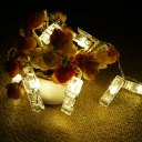 Clips String Lights 3.2Meters 20Beads Warm White
