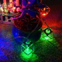 Clips String Lights 1.8Meters 10Beads Colors Light