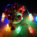 Clips String Lights 3.2Meters 20Beads Colors Light
