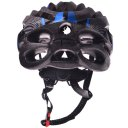 Outdoor Goods Protective Helmet Elastic Helmet Light-weight Cycling Helmet 021 Blue with Black