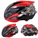 Outdoor Goods Protective Helmet Safety Helmet Unibody Cycling Helmet 020 Red