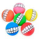 Pet Supplies Puppy Teeth Squeaky Ball Orange