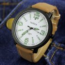 student waterproof Luminous 319 White with brown strap