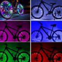 20 LED Bike String Light Bicycle Rim Lights Wheel Spoke Light String Lamp