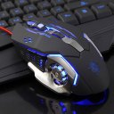 Mechanical Gaming Mouse 6 Buttons Computer Mouse Luminous USB Wired Mouse