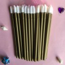 50pcs/lot Colorful Disposable Makeup Lip Brushes Lipstick Pen Cosmetic Tools
