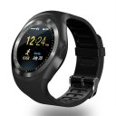 Y1 1.54 Inch Touch Screen Smart Watch Fitness Sports Tracker Support SIM Card