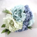 5 Heads Special Peony Bridal Bouquet Artificial Flowers Wedding Bouquet