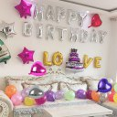 10 inch Heart Shape Foil Balloon Air Mylar Ballons Event Party Wedding Decor
