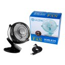 Mini USB Bed Clip Fan 360 Degree Rotation Small Fan for Home Student Dorm