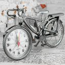 Retro Iicycles Alarm Clock Cool Style Clock Fashion Personality NZ-035