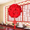 76 Flower Ball Pendant Decoration Hollow Chinese Pendant Shop Home Decoration